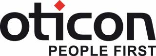 Oticon - people first logo