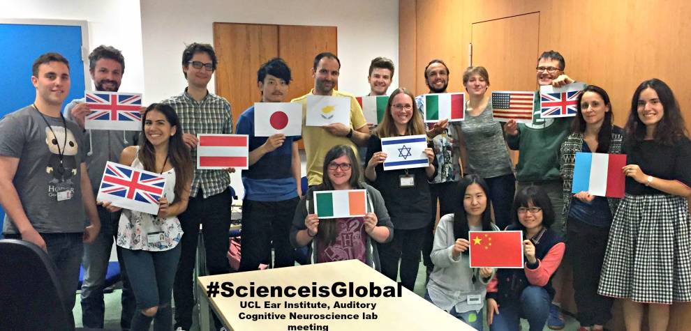 ScienceIsGlobal…