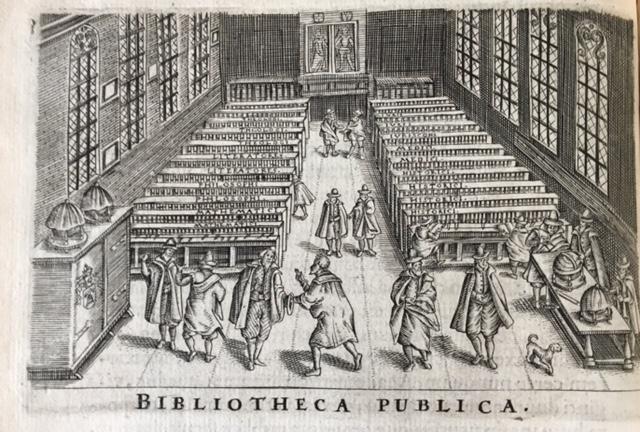 Univ of Leiden Library, found in Johannes van Meurs, _Athenae Batavae_ (Leiden: Elzevir, 1625)