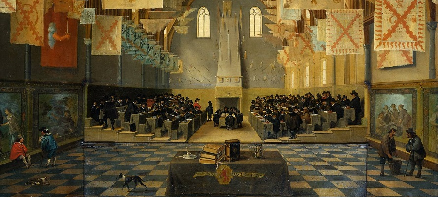 Great Assembly by Bartel van Bassen, study early modern