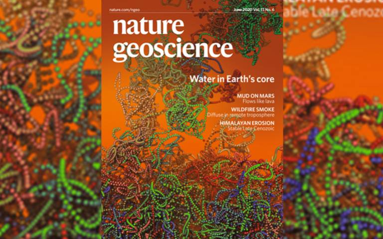 Nature Geoscience cover page June 2020