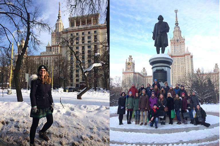 Dr Samantha Buzzard in Moscow