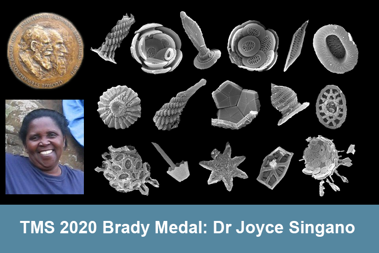 The TMS Brady Medal awarded to UCL alumnus Dr Joyce Singano