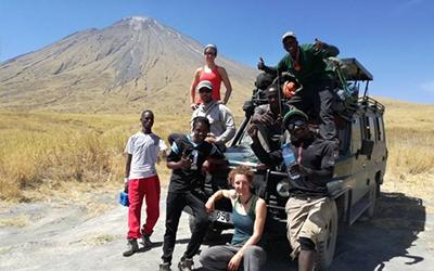 Expedition to Ol Doinyo Lengai Volcano, Tanzania.