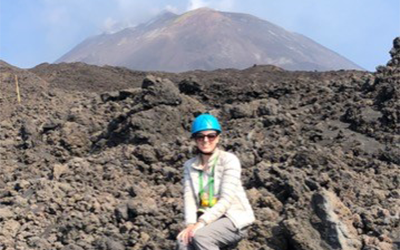 Etna 2019 image of the summit