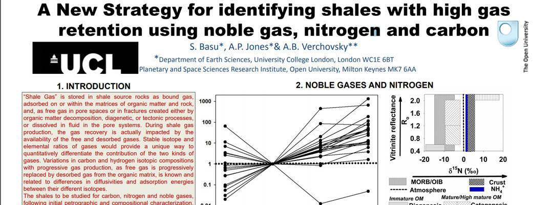 A New Strategy for identifying shales with high gas retention using noble gas, nitrogen and carbon
