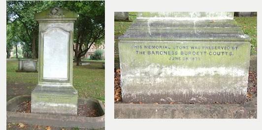 The John Walker Memorial - Limestone