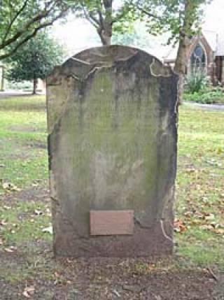 William Jones' Gravestone