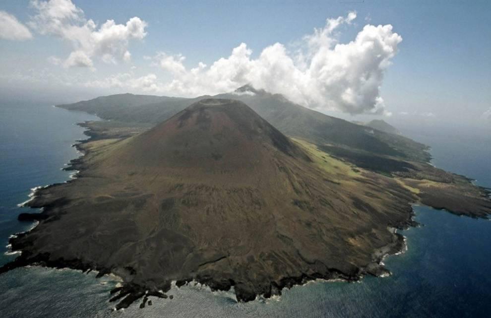 [Figure: Image of Babuyan Claro island. Caption: 'The island of Babuyan Claro. Image reproduced with permission: Jonathan Torgovnik / Getty Images News / Getty Images.']