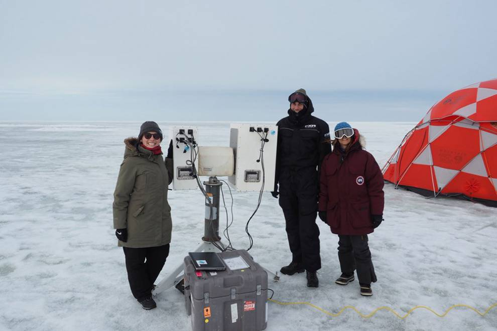 Julienne Stroeve Arctic research