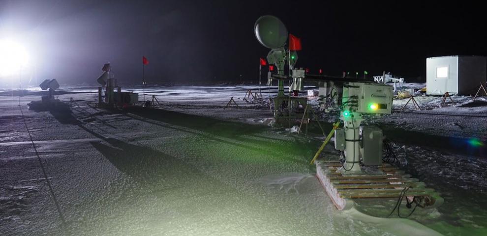 MOSAiC radar equipment