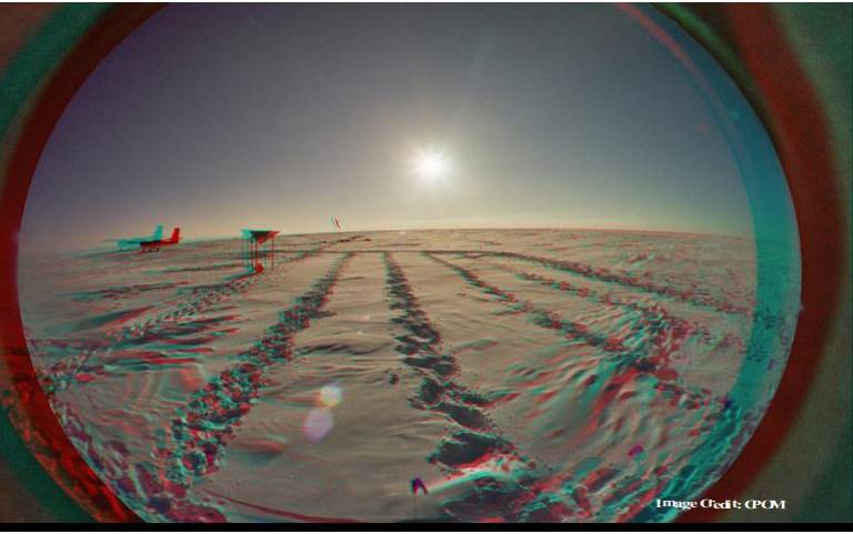 Arctic view Credit CPOM
