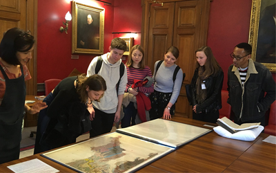 Greenough visit to Geological Society London