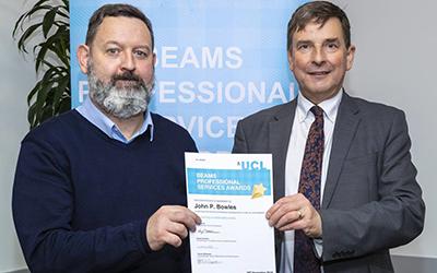 John Bowles BEAMS Award