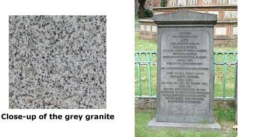 Ann and William Birch's Gravestone