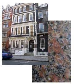 Peterhead Granite.