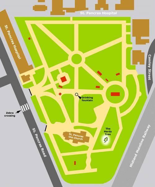 Gravestones of St Pancras Gardens