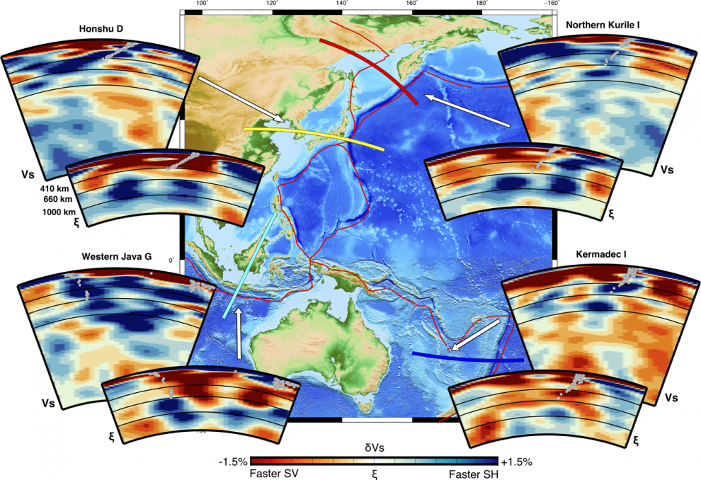 Earth's deep mantle flow; Nature study
