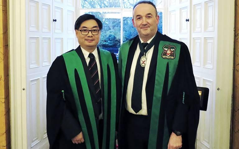 Dr Albert Leung's inauguration