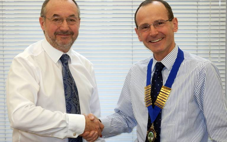 Professor Ian Needleman and Dr Phil Ower