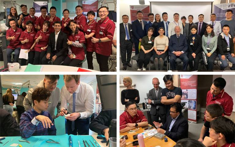 CPD courses with Chinese partners November 2019