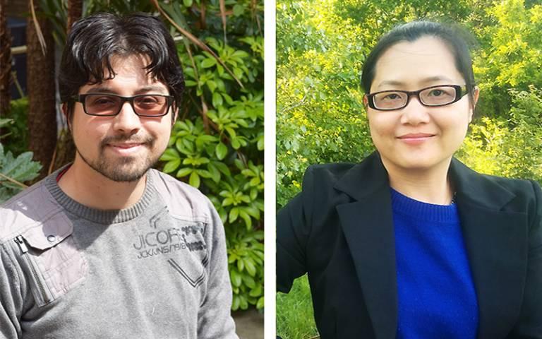 Dr Pomo and Dr Nguyen