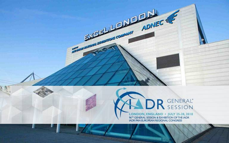 ExCel Centre London IADR 2018