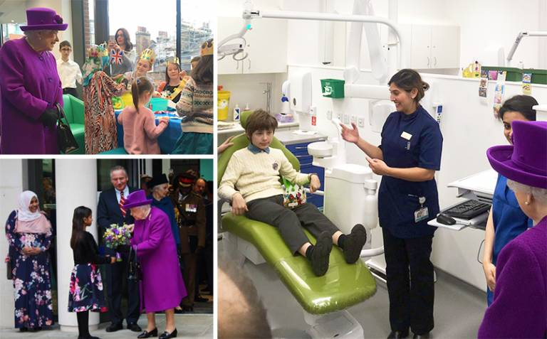 Her Majesty The Queen opens Hospital