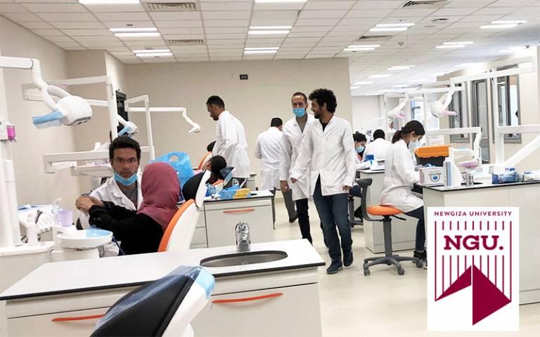 New Giza University dental clinic