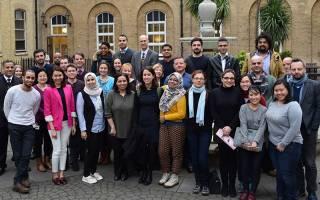 Group of postgraduates