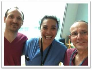 Staff supporting ICU during pandemic