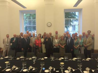 Political Economy Alumni event