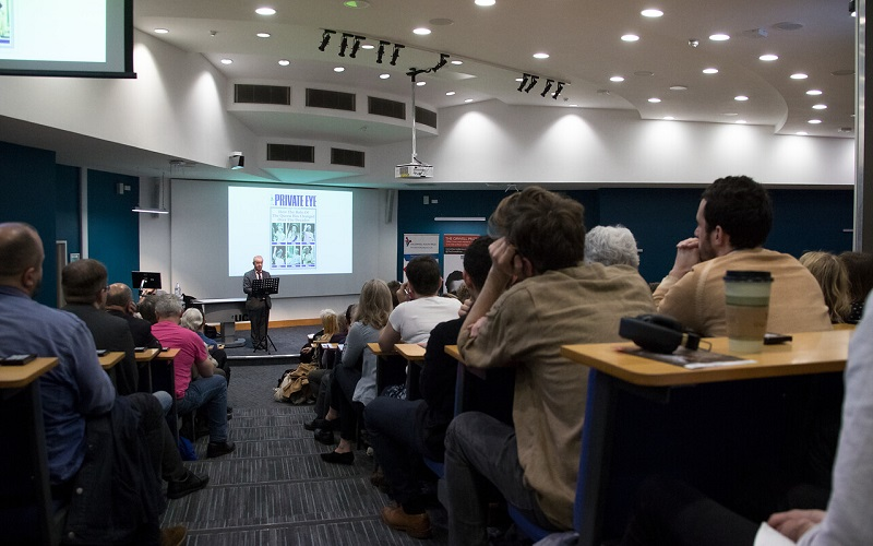teaching in a lecture theatre
