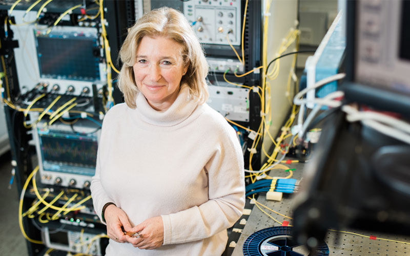 Professor Polina Bayvel Head of the Optical Networks Group