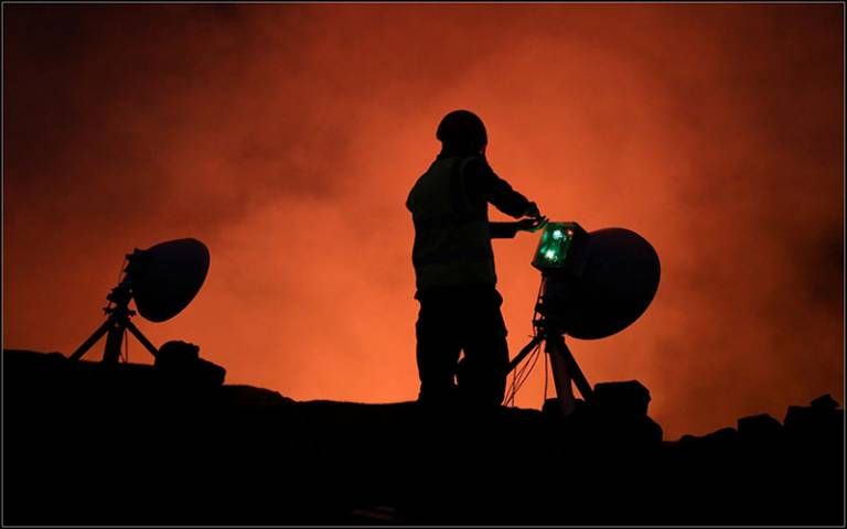 Radar-based lava lake level measurement at Mt Kilauea, Hawaii