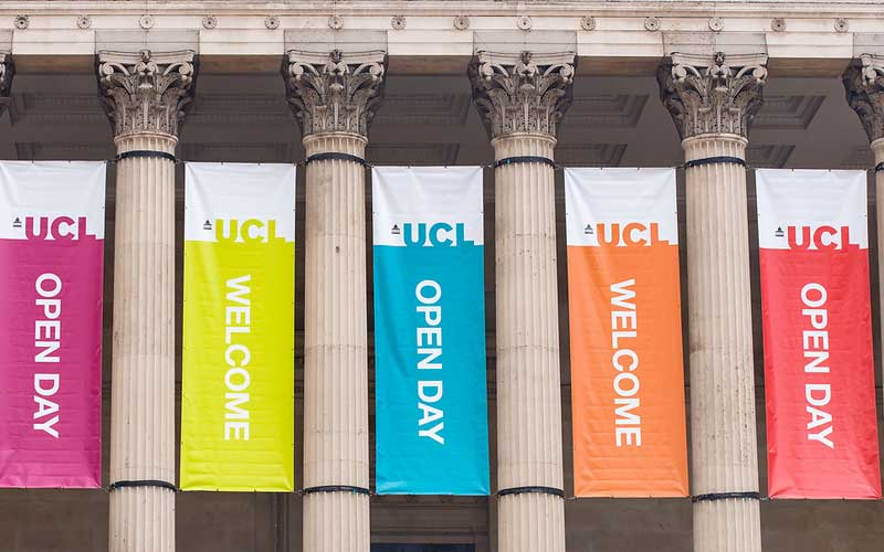 UCL Campus at Open Day