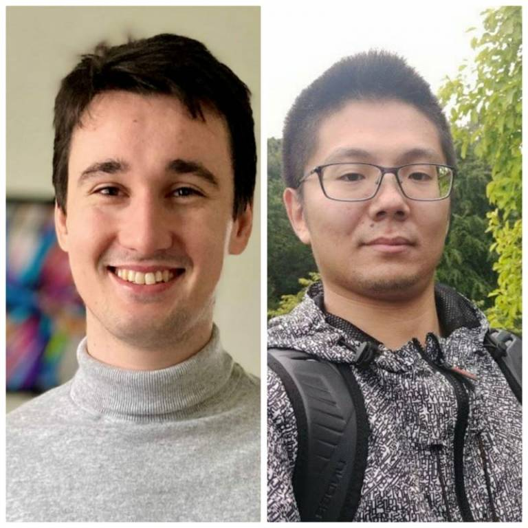 Martin and Xialong Deepnote semi-finalists
