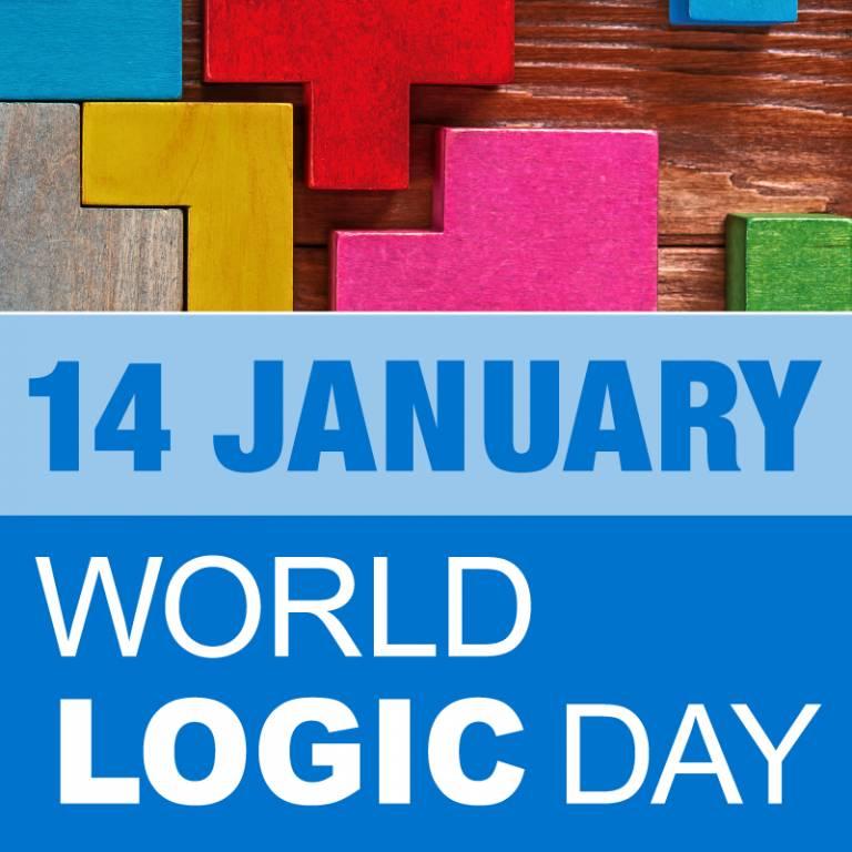 The UNESCO World Logic Day logo (square).