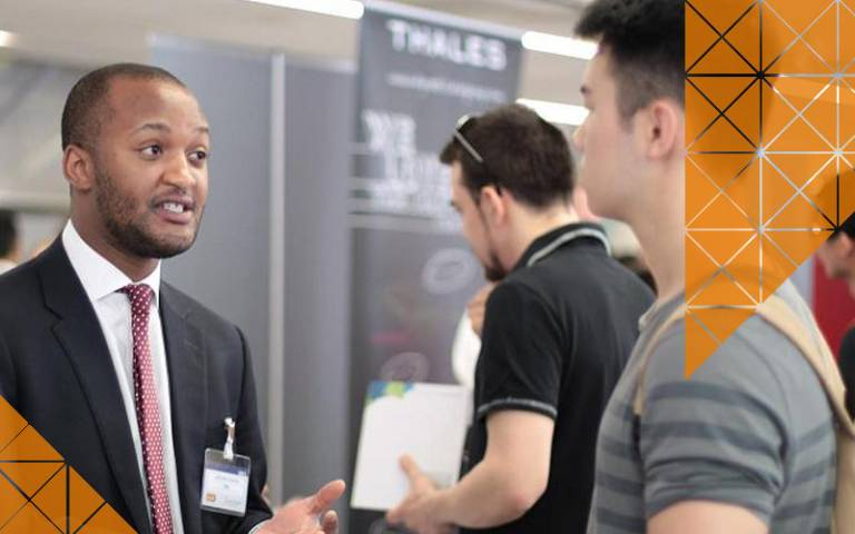 A careers event at UCL Engineering