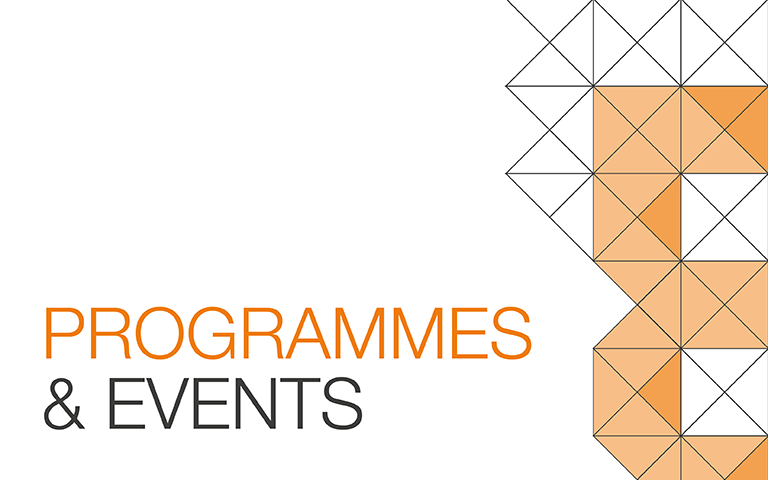 programmes and events tile
