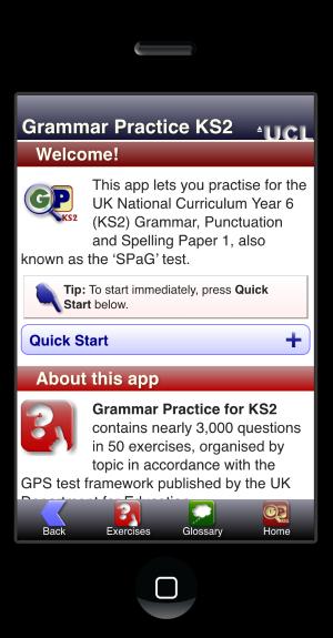 Grammar Practice KS2 App @ UCL Survey of English Usage