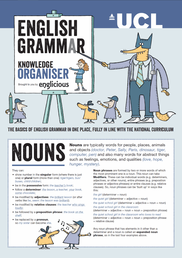 Teaching English Grammar in Schools