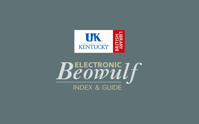 Beowulf - an electronic version