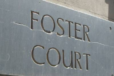 Foster Court Sign