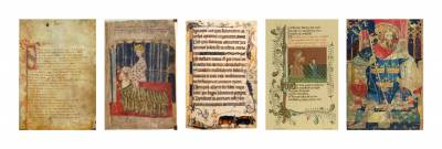 Middle English I Manuscript images