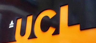 UCL sign on a wall
