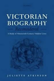 Victorian Biography Reconsidered Book Cover