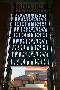 Entrance to the British Library