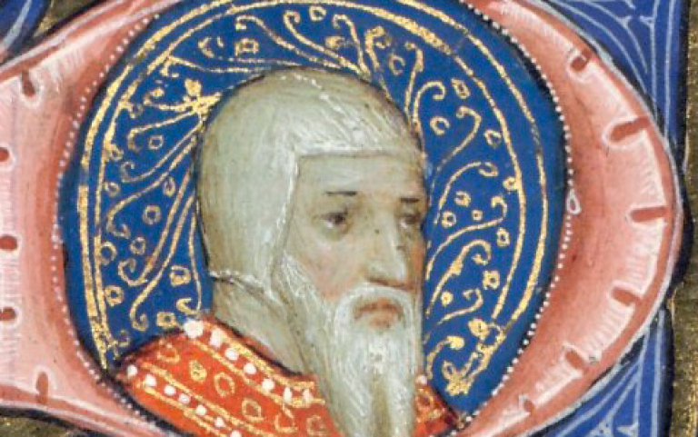 British Library image of Chaucer