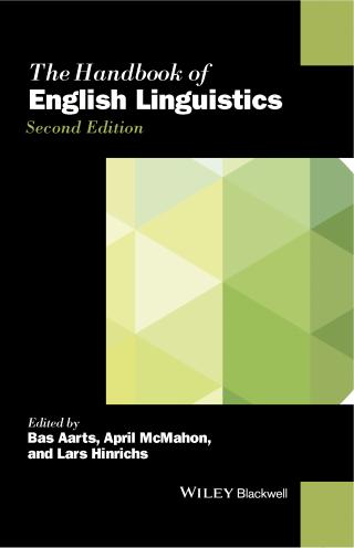 Cover of Handbook of English Linguistics
